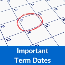 Important Term dates